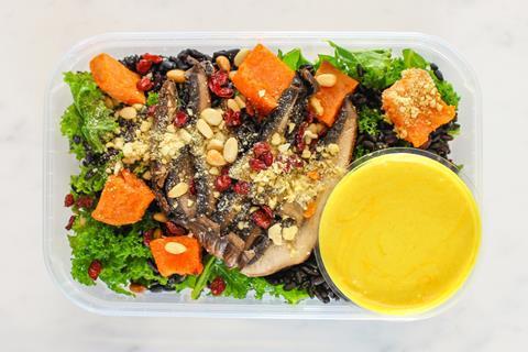pollen & grace immunity salad box