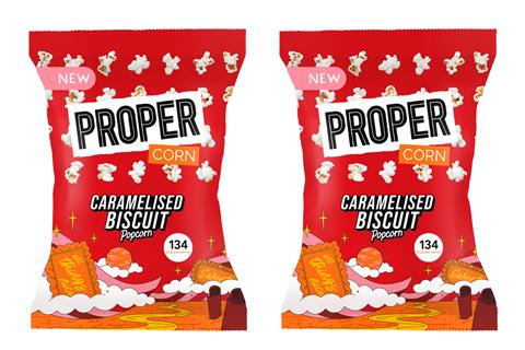Proper Caramelised Biscuit Popcorn