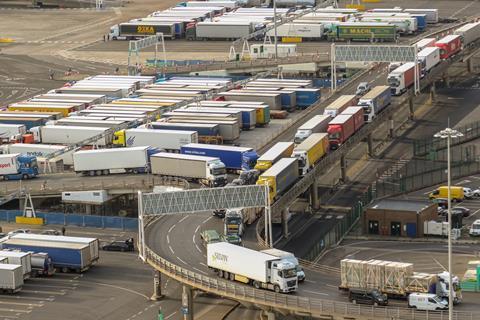 dover port lorries