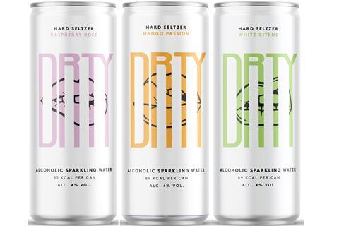 Hard seltzer startup Drty Drinks secures £500k cash boost from angel  investors | News | The Grocer