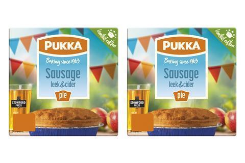 Pukka Sausage Leek + Cider EAN 5030756006273