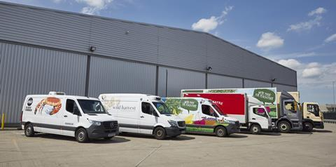 Sysco Speciality Group vehicles