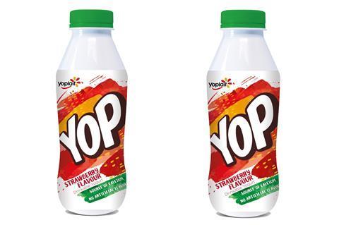 Yop strawberry