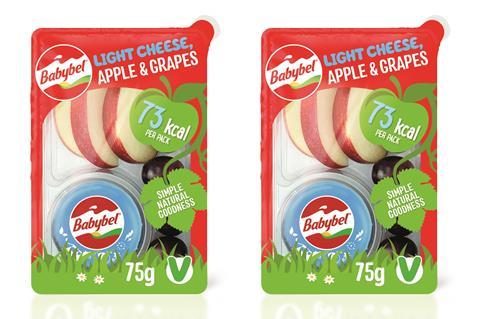BabyBel cheese and fruit