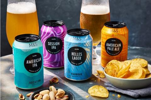 M&S own label craft beers