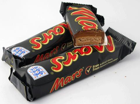 Mars Bars Shrink But Price Stays The Same News The Grocer