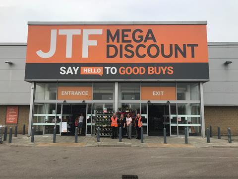 JTF Store opening