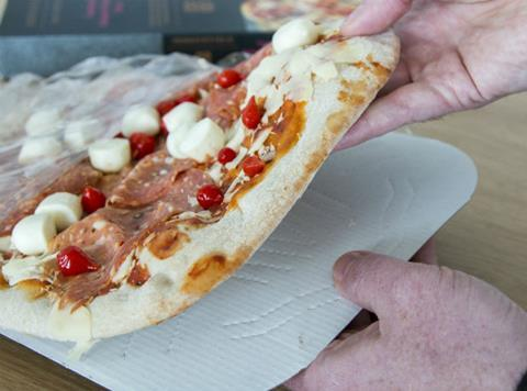 Co Op Replaces Polystyrene Pizza Boards With Recyclable Card