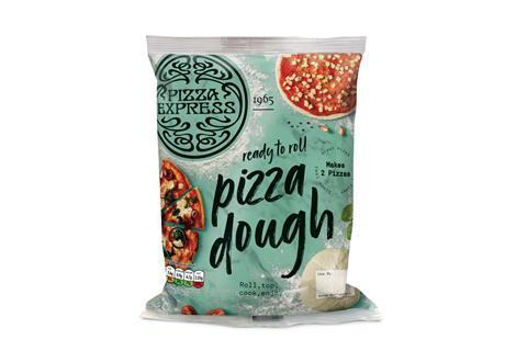 Pizza Express dough puck