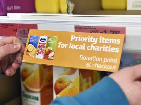 Sainsburys To Label Products Most Useful To Food Banks