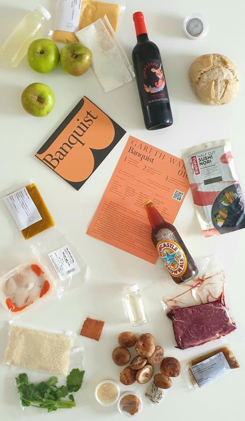 Gareth Ward Banquist Ingredients