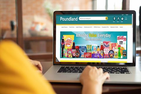 Poundland online