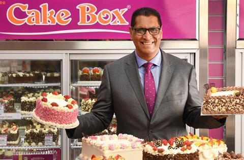 Cake Box CEO Sukh Chamdal