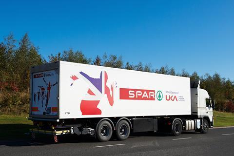 Blakemore spar athletics lorry