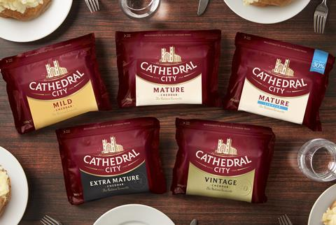 M&A pic - Dairy Crest Cathedral City line up