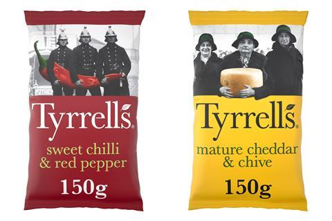 Tyrrells packs