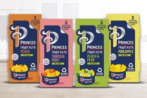 Princes Fruit Pots