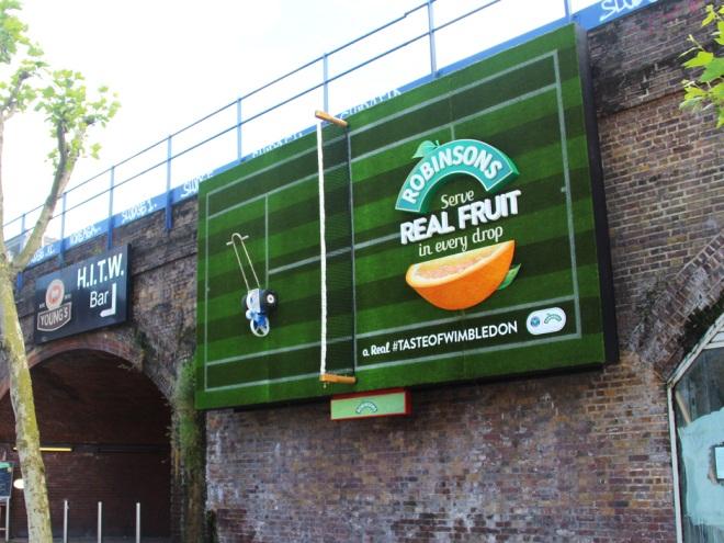 robinsons tennis billboard