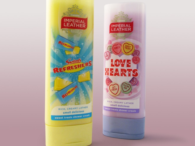 Imperial Leather sweets shower gel